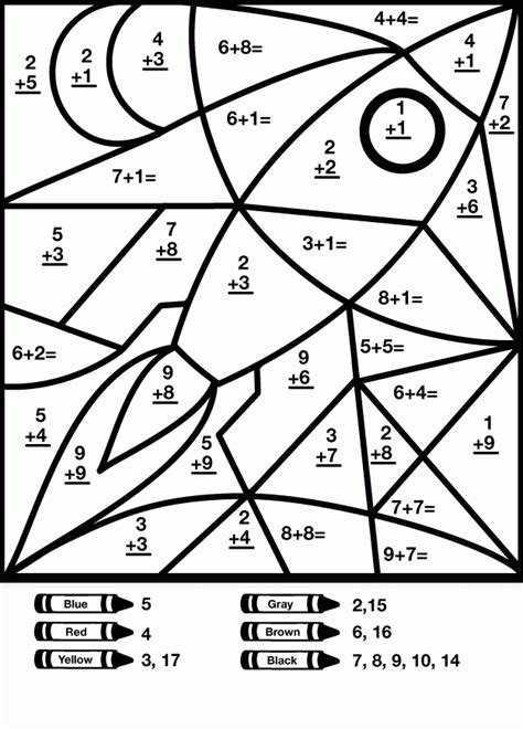 summer math coloring pages free math worksheets summer coloring page gianfreda net