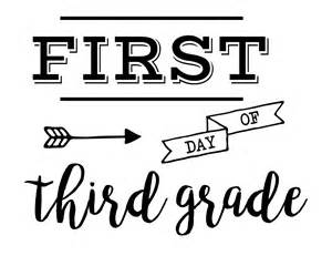 Day Of School Sign Template by Day Of School Sign Free Printable Paper Trail Design