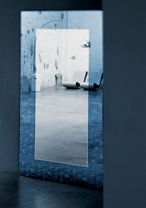 outline mirror floor or wall mounted 100 x 200 cm by