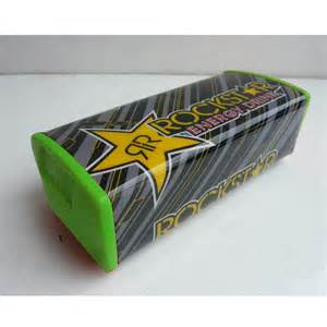 Handgrip Protaper Rockstar rockstar pro taper square handlebar bar pad handle grip dirt pit bike green ebay