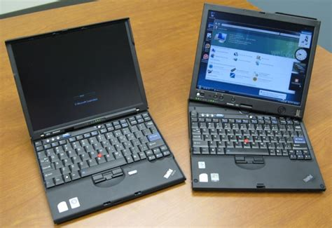 Laptop Tablet Lenovo X61 lenovo releases thinkpad x61 x61s and x61 tablet pc
