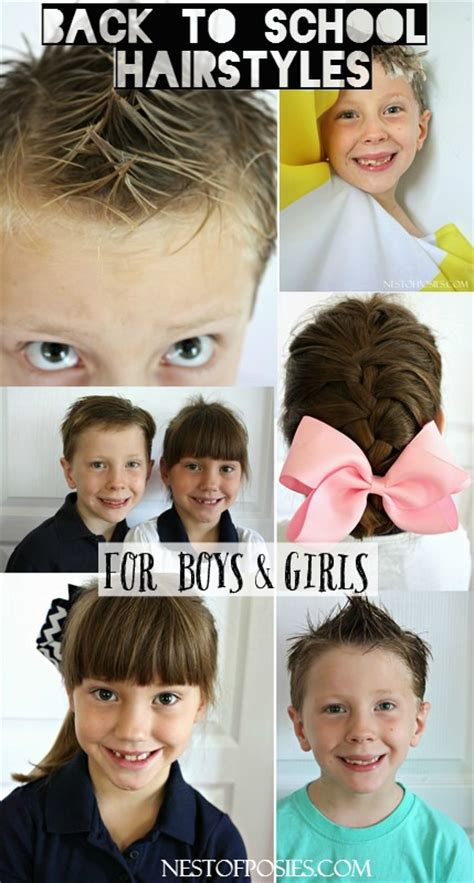 amazing back to school hairstyles back to school hairstyles for boys and girls
