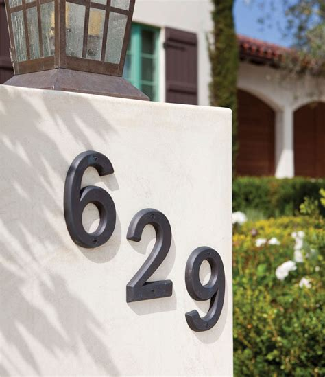 house numbers 6 quot house number quot 1 quot hn601 rocky mountain hardware