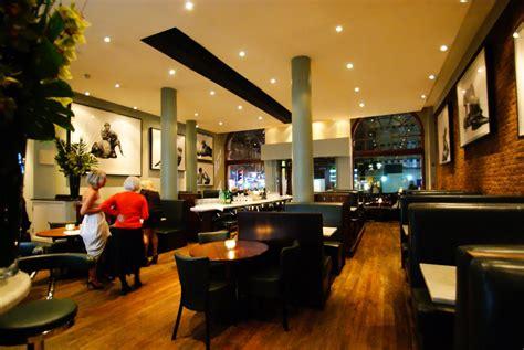 black and blue restaurant wigmore