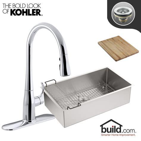 kohler strive sink k 5285 kohler k 5285 k 596 cp polished chrome faucet strive