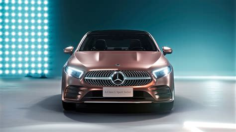 Mercedes 2019 Sports Car by 2019 Mercedes A200 L Sport Sedan Wallpaper Hd Car
