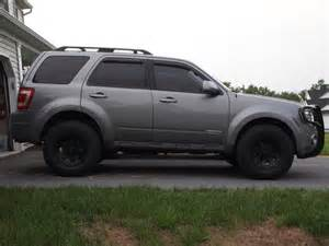 ford escape 4x4 lifted re question mud on the