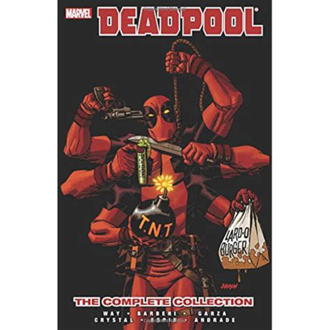 born the complete graphic novel books marvel deadpool by daniel way the complete collection
