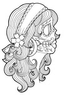 day of the dead coloring sheets day of the dead coloring and craft activities family