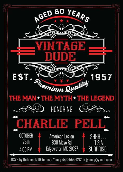 Best Vintage Dude Images On Pinterest  Ee  Birthday Ee   Party
