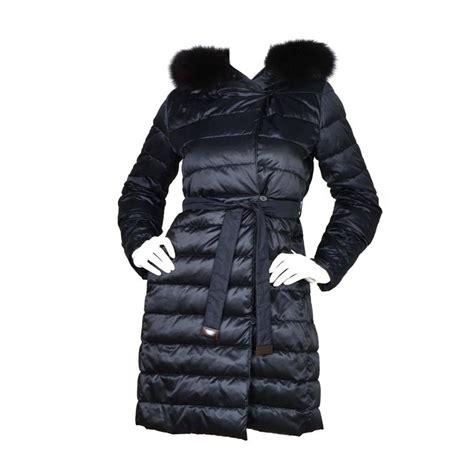 Maxmara Choco Black Navy s max mara navy quot cube coat quot sz 0 for sale at 1stdibs