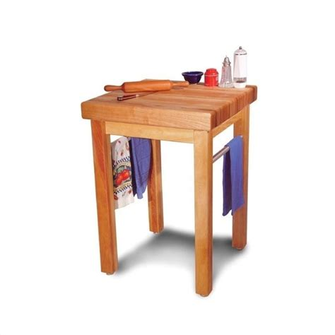 catskill craftsmen country butcher block work table