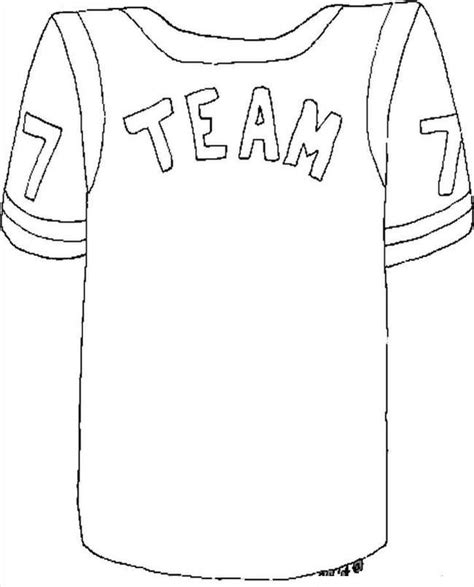 nba jersey coloring pages football jersey coloring pages coloring home