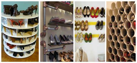 inventive diy shoe storage hacks