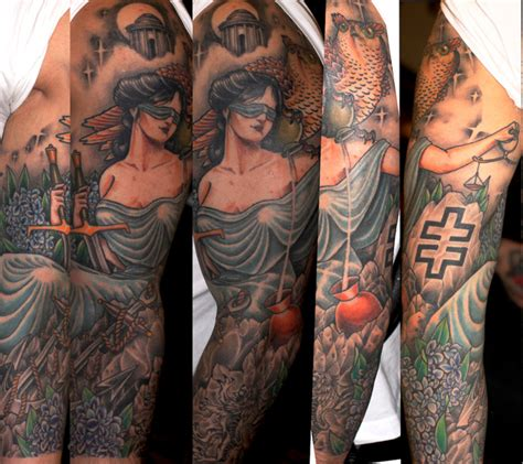 tatuagem manga justi 231 a por three kings tattoo