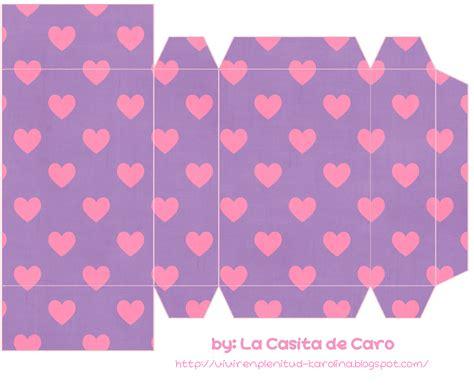 moldes de cajitas para san valentin pareja en san valent la casita de caro cajitas para san valentin 2