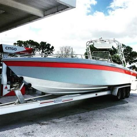 used scarab boats florida 1986 used scarab center console fishing boat for sale