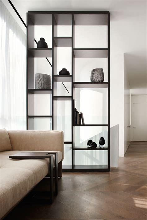 open shelves in bedroom residence on the esplanade interior design by studio munge follow studiomunge