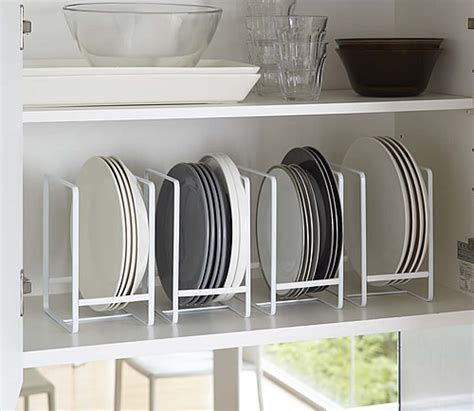Metal Kitchen Canisters by Store Vertical Plate Rack