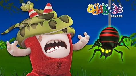 film lucu untuk anak oddbods jalan jalan di hutan kartun lucu untuk anak