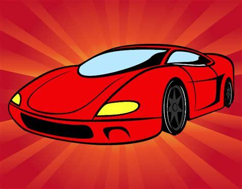 Carro Modernos Y Aerodinamico Imagenes De Carros Y Motos Dibujos De Carros Para Colorear Dibujos Net
