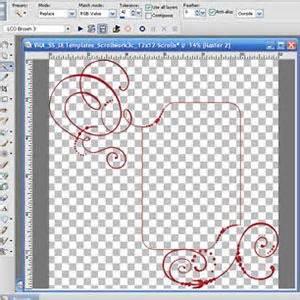psp pro card templates 1000 images about paint shop pro on layout