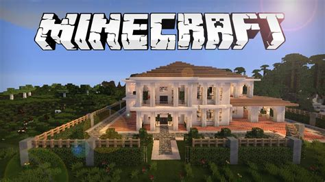 building a mansion minecraft house download youtube