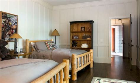 Wood Paneling For Bedroom Walls by Paneled Walls A Chic Alternative In Any Room