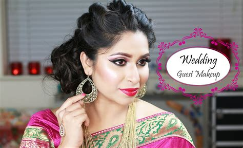 Asian Hairstyles For Wedding Guests by Grwm Indian Wedding Guest Makeup Wedding Makeup