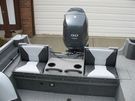jon boat casting seat muskiefirst seat casting deck 187 muskie boats and motors