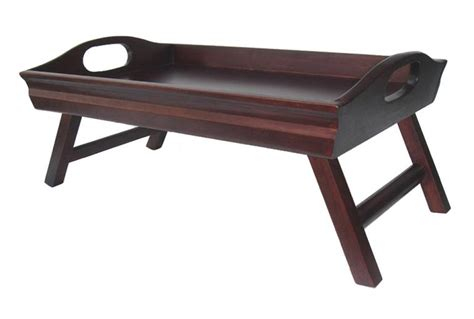 Breakfast In Bed Table by Wooden Breakfast In Bed Tray Table Home Designs Project