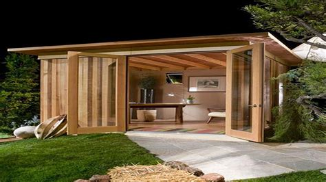 How To Add Privacy To Backyard Metal Outdoor Buildings Modern Cabana Design Back Yard