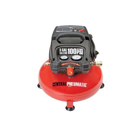 pancake air compressor  gallon  psi