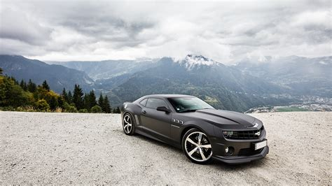hd wallpaper chevrolet camaro mountain roadster