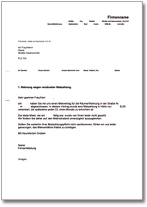 Mahnung Muster Englisch Kostenlos Dehoga Shop Mahnung Wegen Vers 228 Umnis P 252 Nktlicher Mietzahlung Kaufen
