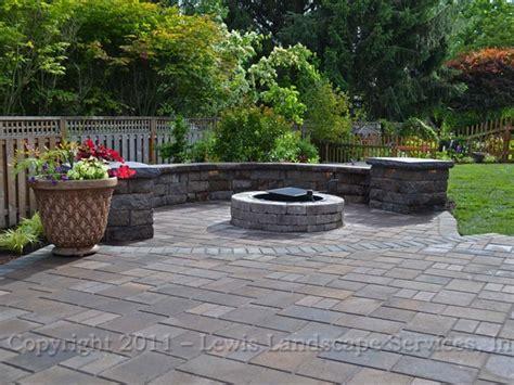 images of paver patios lewis landscape services outdoor living spaces portland