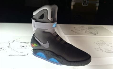 Nike Air Mcfly To Be Released by Nike Air Mag Marty Mcfly Back To The Future Shoes Get