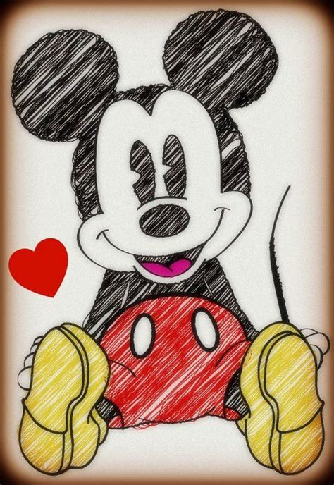 imagenes de mickey para dibujar a lapiz m 225 s de 25 ideas incre 237 bles sobre dibujos bonitos en