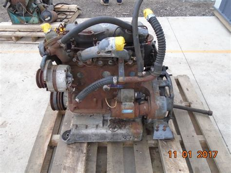 engine mercedes benz om  early engine complete mechanics special  running core