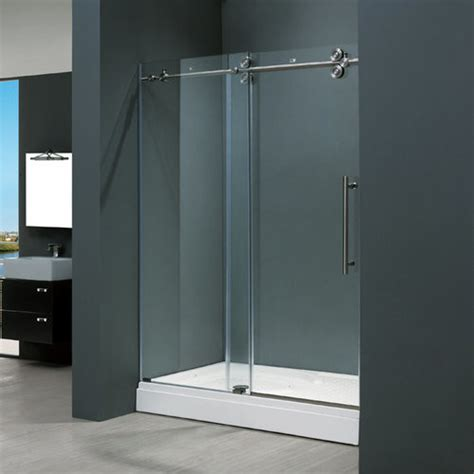 Stainless Steel Shower Stall by Vigo Vg6041stcl6074 Clear Stainless Steel Shower Enclosures 60 Quot Shower Stalls