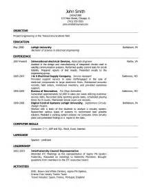 Sle Resume For Dermatology 100 Curriculum Vitae Resume Template For Exles Of Resumes Sle Resume Sle Automotive