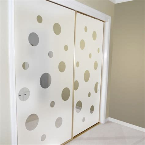 Mirror Closet Doors Closet Door Alternatives Mirrored Closet Doors Decorated With Porthole Views By Wallpaper For
