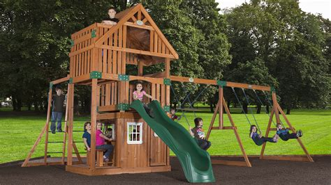 lowest price backyard discovery wanderer playset