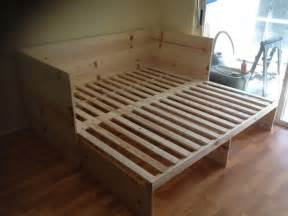 How To Pull Out A Sofa Bed Pull Out Sofa Bed Built By Handy Harry