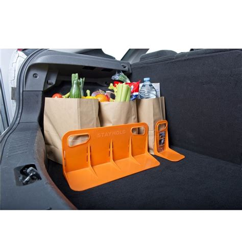 Car Boot Organiser stayhold large orange car boot organiser from direct car parts