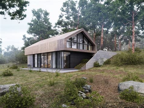 forest house on behance