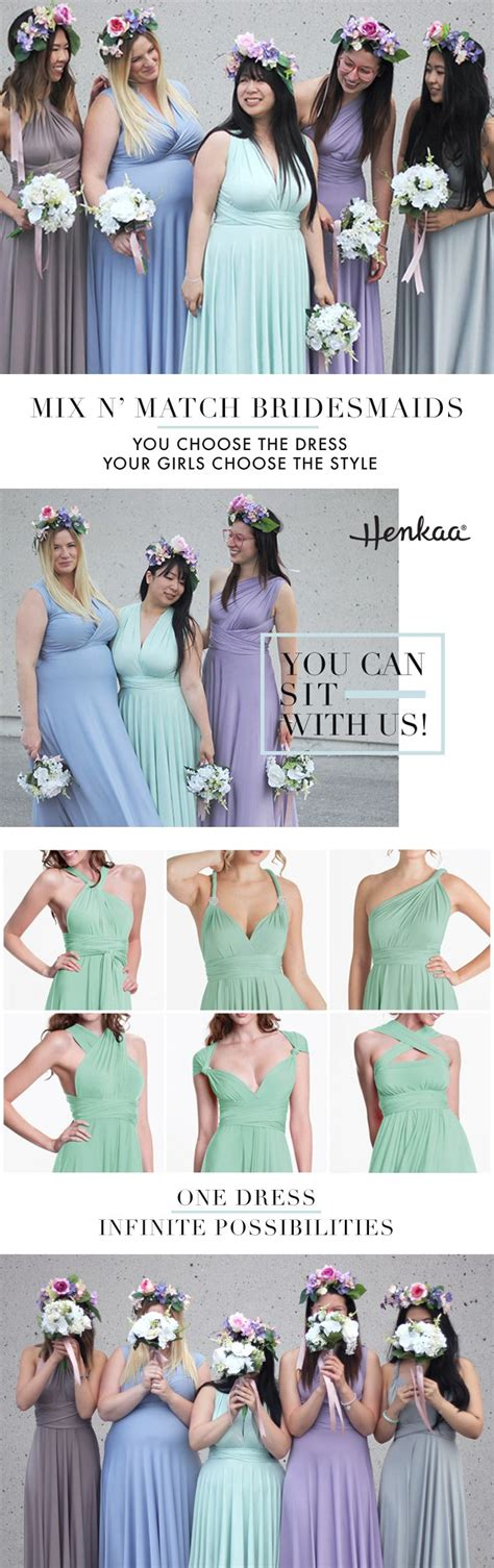 Bridesmaid Dresses To Fit All Sizes - best 25 convertible bridesmaid dresses ideas on