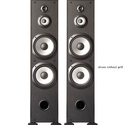 Stajing Speaker 4 Inchi sony ss f7000 4 way floor standing speaker ss f7000 b h photo