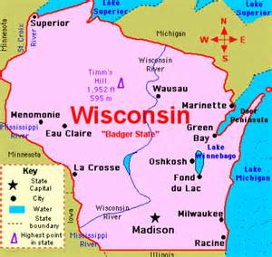 wisconsin state map presidential election us play