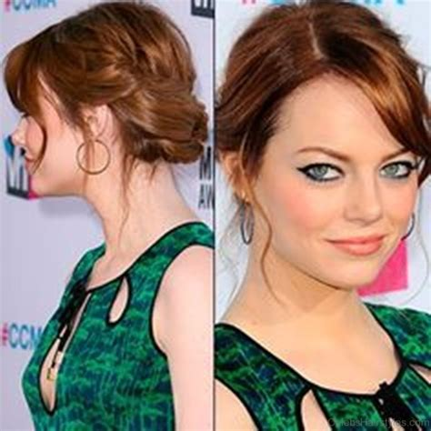 emma stone updo hairstyles 55 excellent hairstyles of emma stone